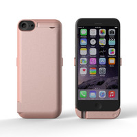 Wholesale 2016 External Battery Case For iPhone7 plus mah Powerbank Backup Power bank Case Backup Charger for iphone plus