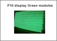 Wholesale Hot sell high brightness mm p10 single Green color LED advertising board P10 led message moving sign LED programmable display