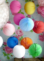 accordion paper lanterns - Big cm Accordion Pleated Paper Lanterns Watermelon Lantern Wedding Party Birthday Showers Home Event Decor