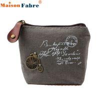Wholesale Fabulous Girl Retro coin case bag coin purse Wallet monederos Card Case Handbag porta monete donna Gift Eiffel Tower