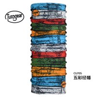 Wholesale 30 COOLMAX genuine totem headscarf outdoor UV sunscreen dry seamless bandanas magic scarf