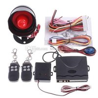 Wholesale One Way Car Vehicle Alarm Security System Keyless Entry Siren Remote M00110 SPD