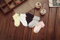 Wholesale Cotton floor socks lace baby lingerie baby socks fall and winter new cotton