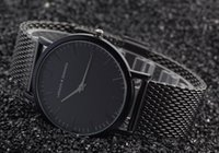 Wholesale Hot new Larsson Jennings men s luxury brand quartz watch Fashion wrist watch Japanese quartz clock Stainless steel strap