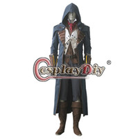 assassins outfit - Assassins Creed Unity Arno Victor Dorian Costume Outfit Adult Men s Halloween Cosplay Costume