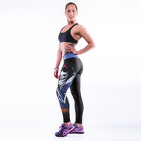 apple leggings - Euro Style black milk sexy women skull princess apple D digital printing high waist running fitness sport leggings Pants YT2008
