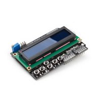 Wholesale For Arduino Expansion Board UNO R3 MEGA2560 MEGA1280 Keypad Shield LCD B00293 SPDH
