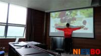 Wholesale High Quality Lumens DLP Digital Shutter D Ultra Short Throw Projector HDMI VGA for Education Training Meeting Church Bar
