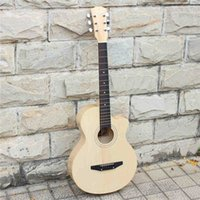 Wholesale freeshopping inches of transparent color Folk guitar and fresh series Guitar students free of charge accessories and tuner