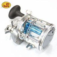 big casters - Goture All Metal Big Baitcasting Fishing Reel Boat Trolling Saltwater Fishing Deep Water Jig Coil Drum Type Bait Caster BB RB