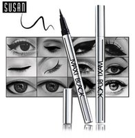 Wholesale 1 Hot Ultimate Black Liquid Eyeliner Long lasting Waterproof Eye Liner Pencil Pen Nice Makeup Cosmetic Tools