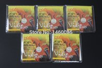 Wholesale Sets A704 Steel Core Stainless Steel Aluminum Alloy Wound Violin Strings