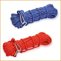Wholesale 10mm Diameter Braided Polyester Rope General Purpose Rope Safety Survival Equipment Rope For Outdoors Fishing Hiking Camping