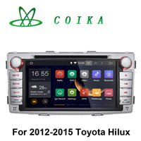 auto phone recorder - Quad Core Android Car DVD Tape Recorder For Toyota Hilux Auto GPS Navi Radio BT WIFI G Touch Screen RDS D Map