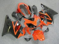 plastic injection molding - Latest bottom orange painted red pattern custom plastic injection molding fairings Honda CBR600 F4i