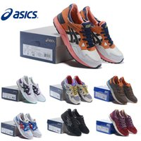 Wholesale Asics Running Shoes Gel Lyte V5 Comfortable For Women Men Training Breathable Athletics Discount Sport Sneakers Size