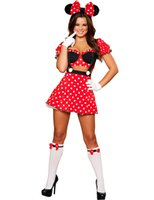 adult mouse costume - Minnie Mouse Dress Adult Halloween Costumes for Women Sexy Minnie Mouse Costume for Women Cosplay Sexy Fantasy Women
