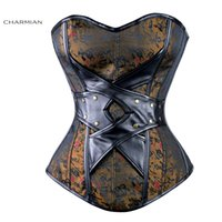 armor corset - Double quot Y quot Criss cross Gothic Steampunk Corset Women Clothing Waist Training Corsets and Bustiers Armor Burlesque Corselet