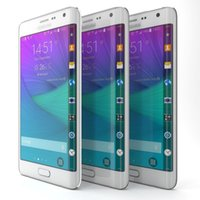 Wholesale Refurbished Original Unlocked Samsung Galaxy note4 edge Android Cell Phone Quad core quot MP GB ROM GSM G G WIFI GPS