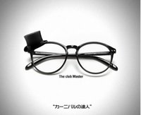 Wholesale Korean pop round glasses girl Ping Guangjing fashionista rivet round glasses cool non mainstream
