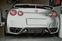 Wholesale 2008 GTR R35 GT R CARBON FIBER DIFFUSER NICE FITMENT amp GOOD QUALITY fiber optic rack mount