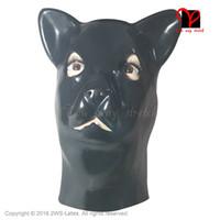 anatomical head - Sexy Anatomical Latex animal pussycat moggy cats Masks Rubber molds Hoods Head Fancy Headgear Fetish Bondage Bodysuit erotic