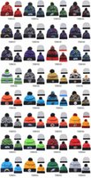 Wholesale Sports Beanies For Sale Cheap - 2016 All team Sports Beanies Best Qulaity Beanies for Cheap Sale Allow mix order Warm Caps