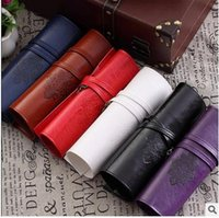Wholesale HOT Women Twilight Moon Bags Leather Make up Cosmetic Pen Pencil Case Pouch Purse Bag colors by DHL
