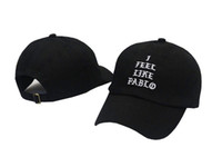 Wholesale I Feel Like Pablo Hats Baseball Caps Snapback Hats Hip Hop Fashion Sports Cap
