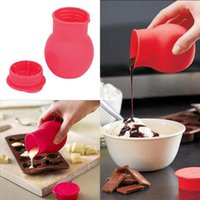 baked milk - Practical Silicone Chocolate Melting Pot Mould Butter Sauce Milk Baking Pouring