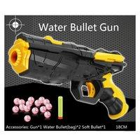 Wholesale New Soft bullet gun water bullet gun toys Paintball EVA bullet Shooting Water Crystal Gun Pistol New Model toy guns kid s gift