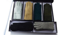 australian logos - Australian brand winter warm gloves Bgg Sheepskin gloves Wool plus cashmere Women s Fashion Gloves Logo and labels