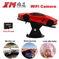 Wholesale Smart WiFi Camera P Home Security IP Camera MP and Use as Car DVR CCTV MIni Surveillance AP and WiFi Mode Configuration
