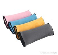 Wholesale Autos Pillow Car Safety Belt Protect Shoulder Pad Vehicle Seat Belt Cushion Child Car Seat Belt Sleeve IN
