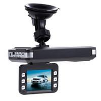 Wholesale 2in1 Car DVR Camera Inch Degree Video Recorder G Sensor Night Vision Radar Laser Speed Detector Anti Police GPS Radar Detect