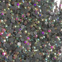 Wholesale Direct sales High quality Hotfix Rhinestone Crystal AB SS6 SS10 SS16 SS20 SS30 Shiny glass stones