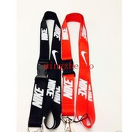Wholesale Hot Hot Hot Clothing Brand New Mixed Colors Neck Strap Lanyard Fit Cellphone Keychains Holder