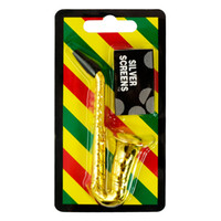accessories saxophone - Formax420 Miniature Saxophone Herb Pipe Pocket Hand Pipe for Tobacco Smoking Accessories Gold Color