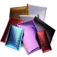 aluminum foil envelope - Premium Aluminium Foil Packaging Bag Metalic Foil Bubble Wrap Envelopes Self sealed bubble envelope CM DHL Free