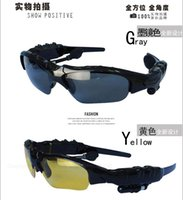 Wholesale The new call to hear music stereo headset bluetooth glasses male the female driver polarized sunglasses30