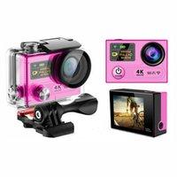 Wholesale Original EKEN H3R K Action Camera Wifi G Remote Control Dual Screen Hero Style M Waterproof Sport DV DVR Camcorder