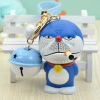 bad products - New Arrival Bad Man Doraemon Style Small Bell Cool Keychain Pendant Novelty Product For Bag Charms Accessory Anime Manga Fans