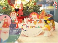 Wholesale cute cartoon christmas card series A