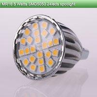 ac dc covers - 5 pieces MR16 ac dc volt led spotlights radiator aluminum waterproof glass cover W led bulb lamp high brightness