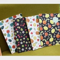 Wholesale quot Fruit Story quot Pack of Lined Notebook Diary Study Planner B5 K Exercise Book Workbook Composition Book Journal Big Notepad Gift