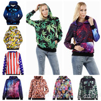 anime jumpers - Women Poke Pikachu Hoodies Cartoon Anime Coat Galaxy Camouflage Jacket Maple Leaf Printed Outwear D Sweatshirts Jumpers Pullovers New D55