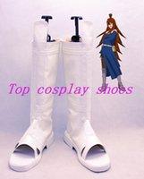 Wholesale Naruto mizukage Terumi Mei cosplay shoes boots shoe boot hand made