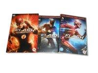 Wholesale DHL Region Free Top Quality movies tv series The Flash The Season Boxset Disc uk version