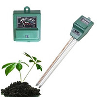Wholesale High Quality Soil Water Moisture PH Tester for Aquarium Garden Plant in Flowers Soil Water Moisture Detector Light Tester