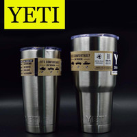 Wholesale Good Stainless Steel Insulation Cup OZ OZ YETI Cups Cars Beer Mug Large Capacity Mug OTH242